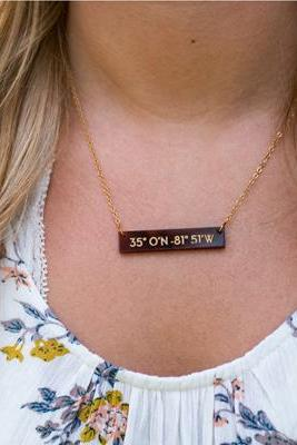 Monogram Personalized Coordinance Necklace